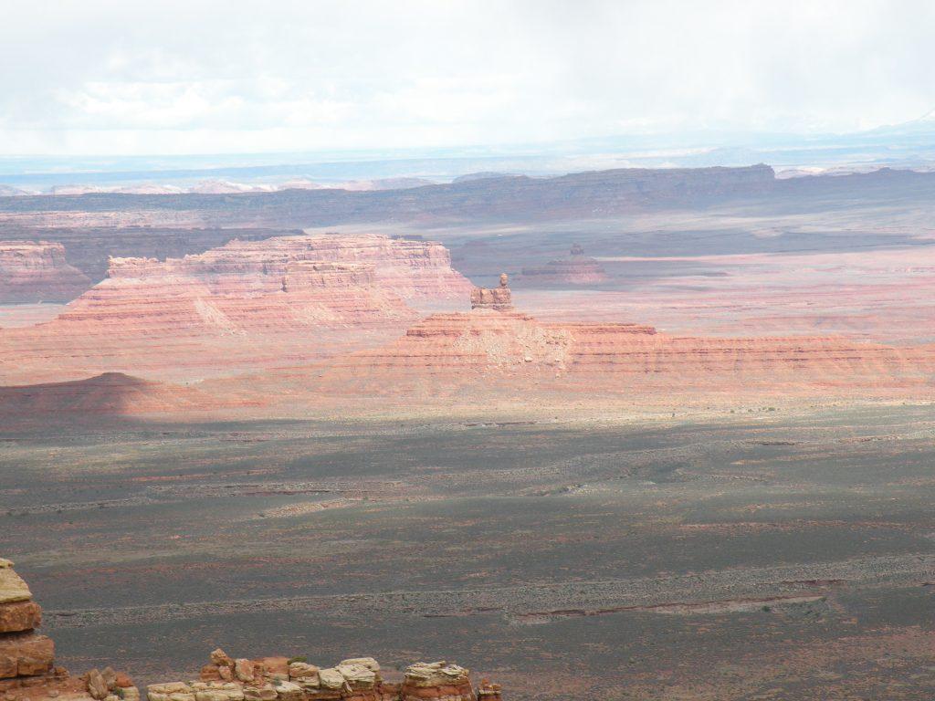 Moab vacation rental canyon view