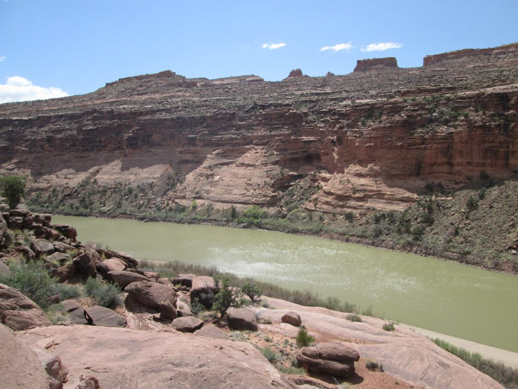 Moab Condo Blog Day Trip to Colorado River Near Castle Valley Turn Off Hwy 128