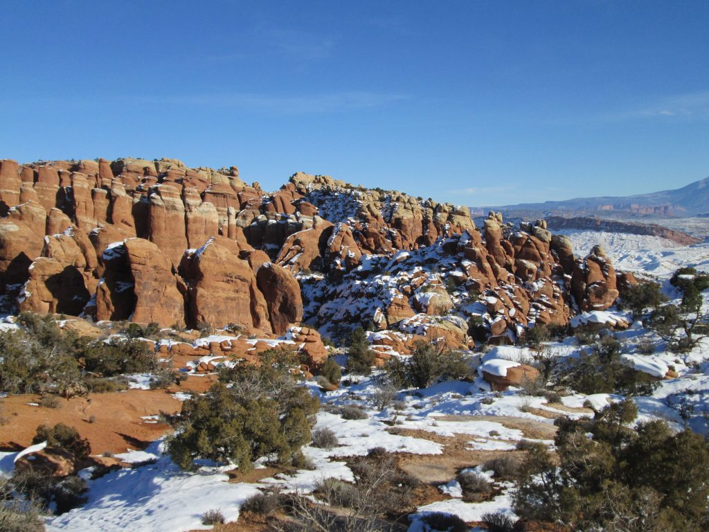 Condo in moab - photo of Fiery Furnace