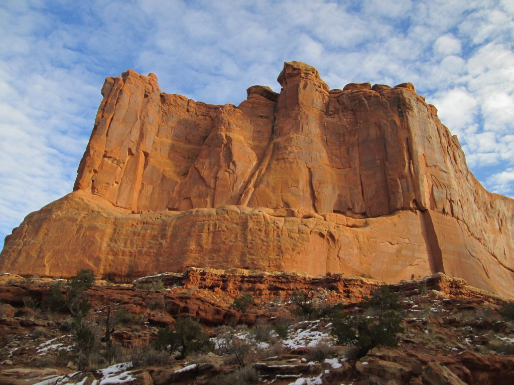condo in moab courthouse rock
