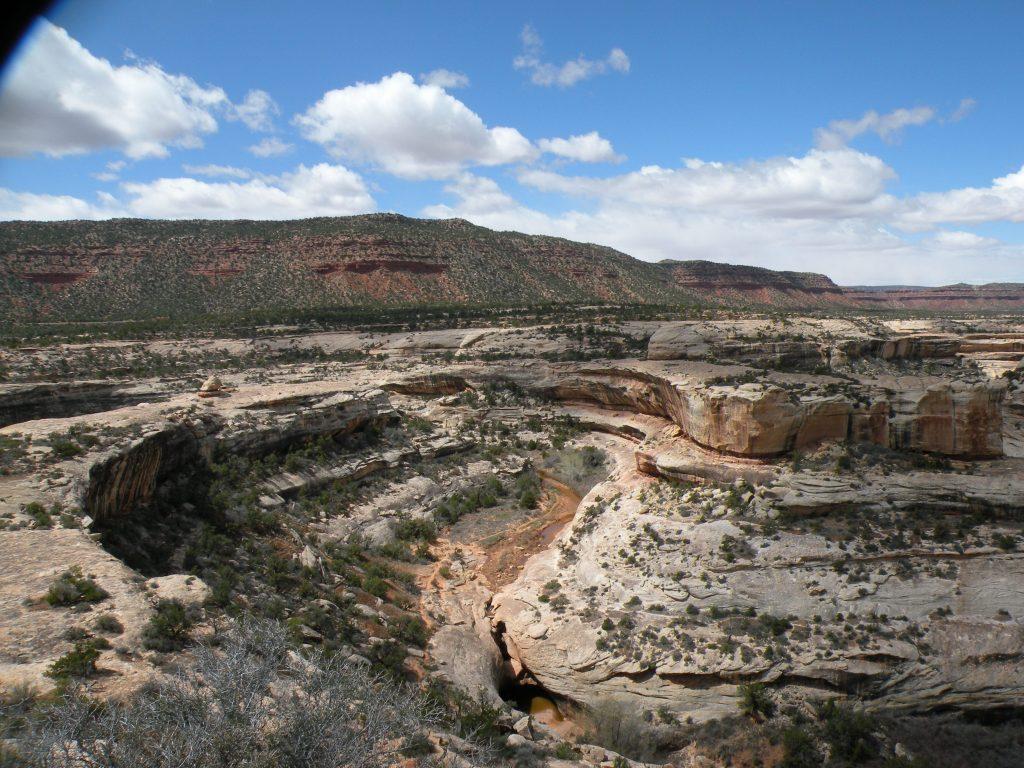 Moab Condo trip to Natural Bridges